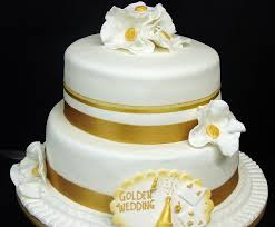 Golden Wedding Anniversary Mannings Bakery