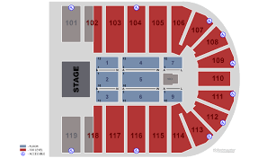 Orleans Arena Las Vegas Tickets Schedule Seating Chart