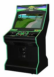 Golden Tee Cabinet Golden Tee Live 2016 In Funglo Pedestal And Upright Cabinets
