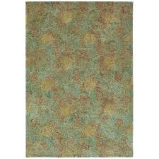 martha stewart rugs by acorn brown wool area rug 7 9 x 9 9 on