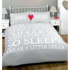 double duvet sets double mine yours duvet set grey at s pertaining to covers double duvet sets