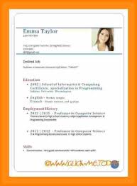 5 How To Write Cv For Job Time To Regift