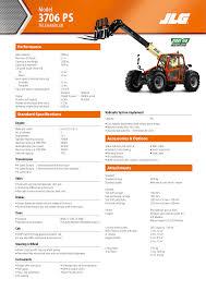 Jlg G12 55a Load Chart 3706ps Telehandler En Manualzz Com