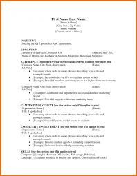 Gallery Of Job Resume Samples For College Students Sample Resumes In