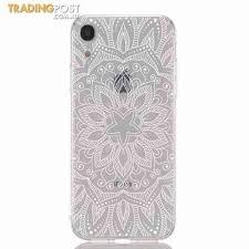 <b>TPU</b>-<b>Hollow</b>-<b>Flower</b>-<b>Painting</b>-Phone-Case-for-iPhone-XR-Multi-C