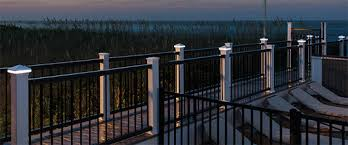 Exceptional Solar Post Caps For 4x4 Vinyl Deck And Fence Posts With Regard To Solar Deck  Post ...