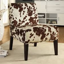 Explore these ideas and more! INSPIRE Q Peterson Cowhide Fabric Slipper Accent  Chair ...