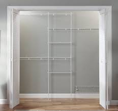 Wire Shelving Wall Lowes Closet Shelving How To Install Wire Closet