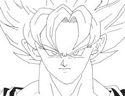 Small Picture Goku Super Saiyan 5 Coloring Pages Coloring Home