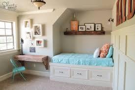 diy frame shelves girls bedroom