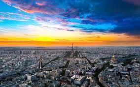 Paris Eiffel Tower Clouds Widescreen Hd ...