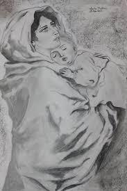 Madonna Col Bambino Opera Darte Di Lux