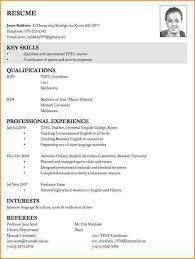 How To Make A Resume For A Job Impressive Cv How To Write A Resume For A Job Application Simple How To Write
