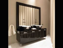 Mirror Bathroom Cabinet Bathroom Large Bathroom Vanity Mirror With Black Vanity Cabinet