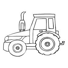 Small Picture Free Printable Tractor Coloring Pages For Kids Tractor Coloring