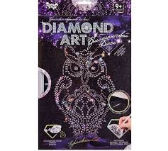 <b>Danko</b> Toys Алмазная аппликация Diamond Art Королевская Сова ...