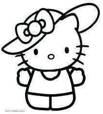 Hello Kitty Printable Coloring Pages Koshigayainfo