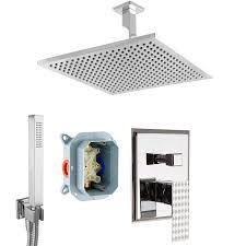Paulgurkes Unterputz Duschsystem Set Regendusche Mit