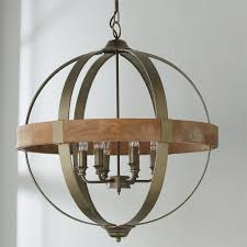 full size of furniture trendy metal and wood chandelier 10 globe 6 light jpg c 1522087734