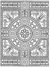 Adult Zen Anti Stress To Print Parquet Patterns Coloring Pages Printable