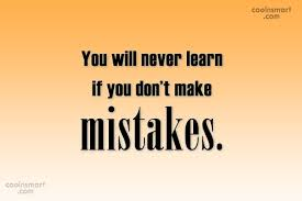 Learning From Mistakes Quotes New Mistake Quotes And Sayings Images Pictures CoolNSmart