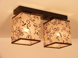 lombardia double ceiling light