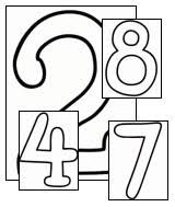 Small Picture 19 Numbers Coloring Pages Print Numbers Pictures to Color All