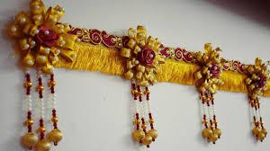 Images Of Designer Torans Door Hanging Toran Making Using Pearls Diy Designer Toran