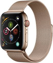 gold milanese loop gold stainless steel