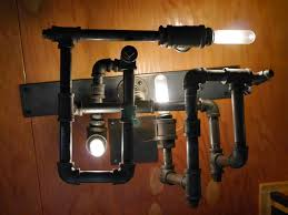 diy pipe lighting. DIY STEAMPUNK-DieselPunk Modern Lamp/Light- W/recycled Pipe Fittings - YouTube Diy Lighting :