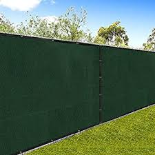 chain link fence privacy screen. Amagabeli Fence Privacy Screen 6x50 For Chain Link Fabric Screening With Brass Grommets Outdoor 6ft Amazon.com