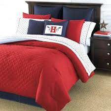 tommy hilfiger bedding set inspirational modern classic bedroom style with bedding sets red red white and
