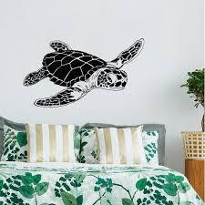 sea turtle wall decal turtle wall