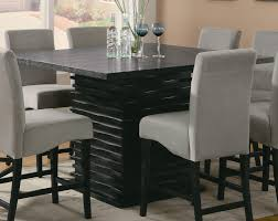 dining room tables chairs square: coaster stanton square counter height dining set