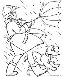 Spring Coloring Page Spring Winds Coloring Pages Kids Spring