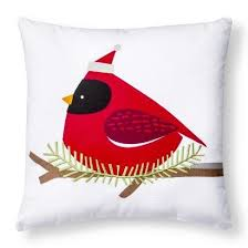 Decorative Cardinal Pillow   Red    TARGET $14.99 In Store Pickup   Bailey    Pinterest   Christmas, Christmas Decorations And Pillows