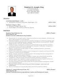 Lawyer Resume Example Extraordinary Sample Resume Lawyer Sample Resume For Attorney Templates Criminal