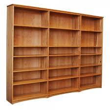 Triple Bookcase in solid hardwood from Scott Jordan Furniture