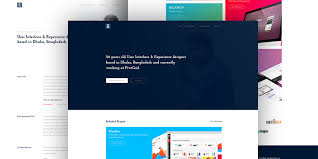Personal Website Template Adorable E Clean Personal Portfolio Template Bypeople