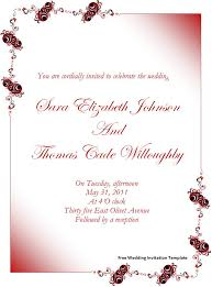 Invitations In Word Template Blank Invitation Templates For Microsoft Word Perfect Wedding