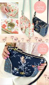 Purse Sewing Patterns Stunning Free Purse Sewing Pattern Cross Body Sewing Tutorial Bags And
