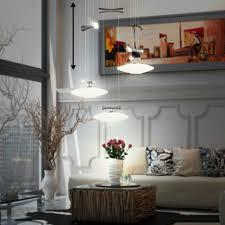 Design Pendel Living Xxl Küche Esstisch Glas Nickel