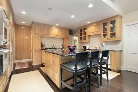 gallery of fascinating light oak kitchen cabinets design