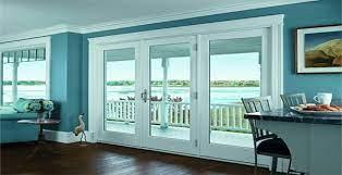 patio door window treatment ideas for