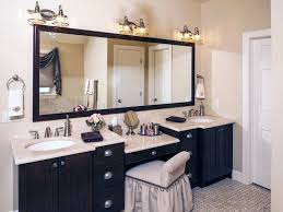 double vanity with makeup area elegant bathroom double sink vanity with makeup area vanities of within