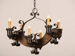 unique france circa rustic wood and iron light chandeliers