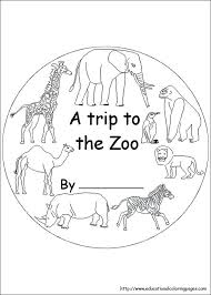 Zoo Coloring Page Zoo Coloring Pages Preschool Animal Coloring Pages