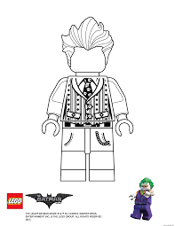 Coloriage Joker Lego Batman Movie Dessin