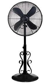 decobreeze adjule height oscillating outdoor pedestal fan