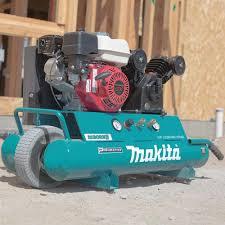 compresor de aire de gasolina. compresor de aire a gasolina 5.5hp 38 ltr makita honda